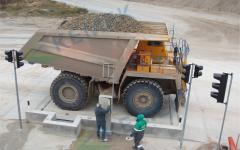 130t heavy duty vehicle scales KEMEK