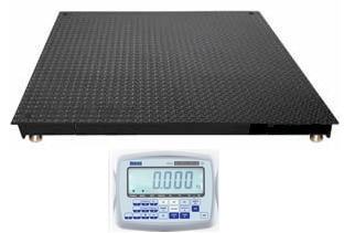 Platformas svari ar MATAS indikatoru 1,25x1,25m (1500 kg)