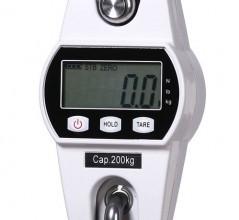 Mini tipa celtņa svari (balti, 50 kg) (1)
