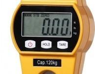Mini tipa celtņa svari (dzelteni, 150 kg) (1)