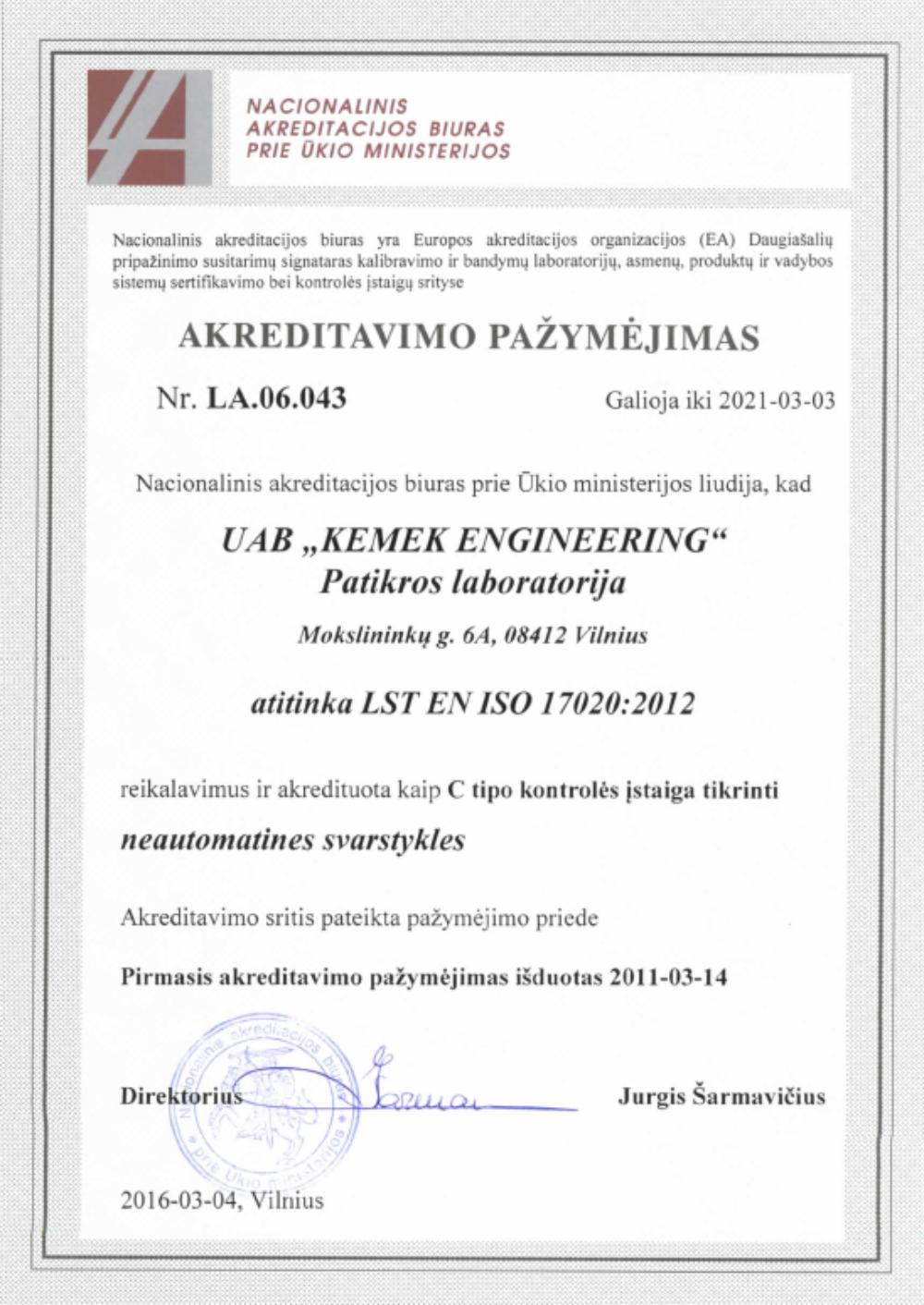 LST EN ISO 17020_2012
