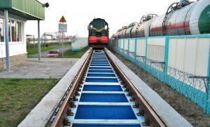 Geležinkelio vagonų svarstyklės